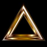 Abstract vector triangle shape Royalty Free Stock Images