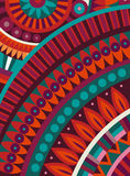 Abstract vector tribal ethnic background Royalty Free Stock Photography