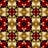 Abstract vector tribal ethnic background pattern Royalty Free Stock Image