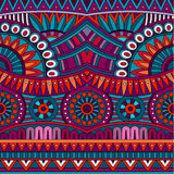 Abstract vector tribal ethnic background seamless Stock Photography