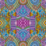 Abstract vector tribal ethnic background Stock Photo
