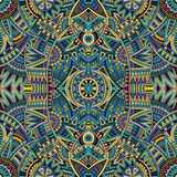 Abstract vector tribal ethnic background Royalty Free Stock Image