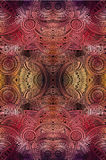 Abstract vector tribal ethnic background Stock Photography