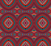 Abstract vector tribal ethnic background royalty free illustration