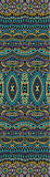 Abstract vector tribal ethnic seamless pattern Royalty Free Stock Images