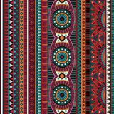 Abstract vector tribal ethnic seamless pattern Stock Photo
