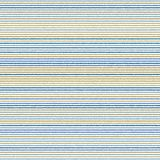 Abstract Vector Wallpaper With Strips. Abstract vector wallpaper with horizontal blue and golden strips. Seamless colored background. Geometric pattern royalty free illustration