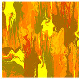 Abstract vector wallpaper in warm colors Royalty Free Stock Photos