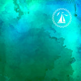 Abstract Vector Watercolor Background Royalty Free Stock Image