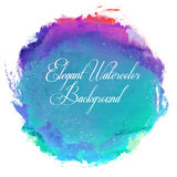 Abstract vector watercolor spot background. Royalty Free Stock Images