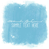 Abstract vector watercolor spot background. Stock Image