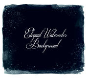 Abstract vector watercolor spot background. Royalty Free Stock Photography