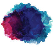 Abstract vector watercolor spot background. Royalty Free Stock Photo