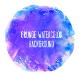 Abstract vector watercolor spot background. Stock Photography