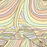 Abstract vector wave background template Royalty Free Stock Image