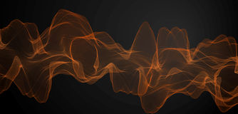 Abstract Vector Wave Royalty Free Stock Photography