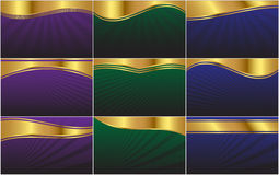 Abstract Vector Web Background Collection Royalty Free Stock Photography