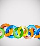 Abstract vector web bubble design Stock Image