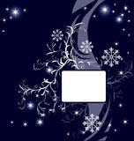 Abstract vector winter background. Abstract  winter background; Vector illustration in AI-EPS8 format Stock Photo