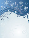 Abstract vector winter background. Abstract  winter background.Vector illustration in AI-EPS8 format Stock Photography