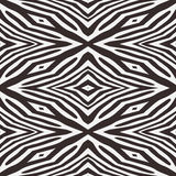 Abstract vector zebra seamless background Royalty Free Stock Images