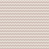 Abstract vector zig zag seamless pattern on the pale brown backg. Round. Ornament in pastel colors Stock Images
