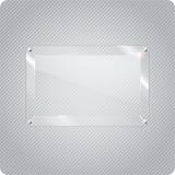 Abstract vectorglasvliegtuig op halftone achtergrond Royalty-vrije Stock Afbeeldingen