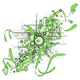 Abstract vectorial background Stock Images