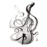 Abstract vectorillustratie muzikaal instrument Stock Fotografie