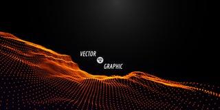 Abstract VectorLandschap Royalty-vrije Stock Foto