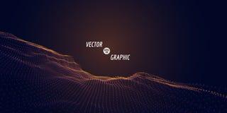 Abstract VectorLandschap Stock Afbeeldingen