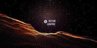 Abstract VectorLandschap Stock Foto's