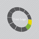 Abstract Vectorlogo design template Stock Afbeelding