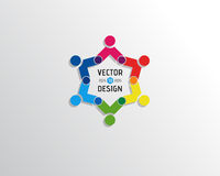 Abstract Vectorlogo design template Royalty-vrije Stock Afbeeldingen