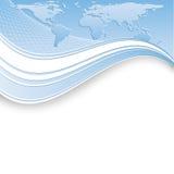 Abstract vectormalplaatje Royalty-vrije Stock Fotografie