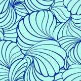 Abstract vectorvormen naadloos patroon Stock Foto's