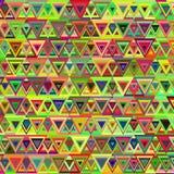 Abstract veelkleurig driehoekspatroon Royalty-vrije Stock Foto