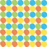 Abstract veelkleurig naadloos patroon Stock Foto