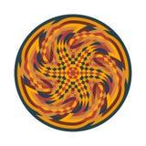 Abstract veelkleurig symbool Stock Foto's