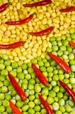 Abstract vegetable background. Stock Images