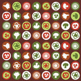 Abstract vegetable pattern Stock Photo