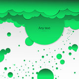 Abstract vektorny background green clouds. Abstract background of green clouds Stock Photos
