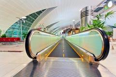 Abstract venster bij de luchthaven Stock Afbeeldingen