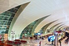 Abstract venster bij de luchthaven Stock Afbeelding
