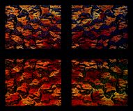 Abstract vensterlicht stock afbeelding