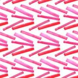 Abstract verfijnd prachtig schitterend elegant grafisch mooi rood roze karmozijnrood magenta diagonaal lijnenpatroon van waterver Stock Foto