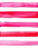 Abstract verfijnd prachtig schitterend elegant grafisch mooi rood roze karmozijnrood magenta horizontale lijnenpatroon Stock Foto