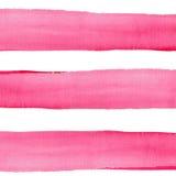 Abstract verfijnd prachtig schitterend elegant grafisch mooi rood roze karmozijnrood magenta horizontale lijnenpatroon Royalty-vrije Stock Afbeeldingen