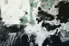 Abstract verouderd willekeurig geschilderd canvas, stof met de vlekken van de kleurenverf en vlekkentextuur voor ontwerpdoeleinde stock foto
