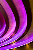 Abstract vertical background - dark purple lines Royalty Free Stock Photos